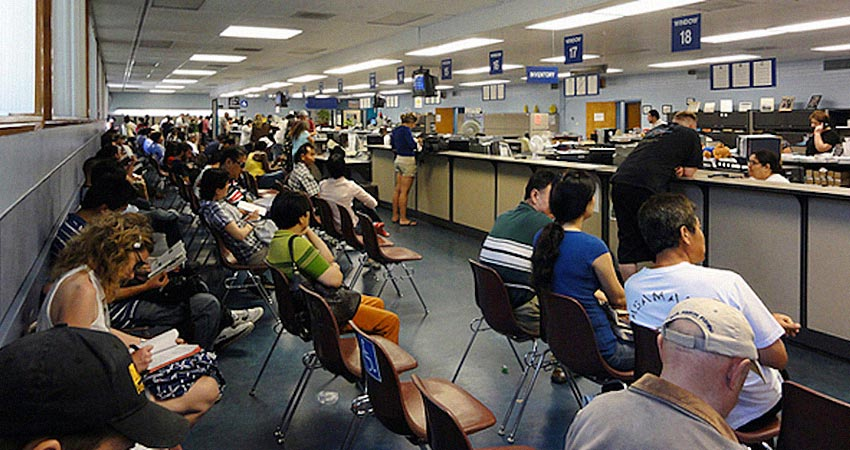 CDL Class A Permit Exam at the DMV